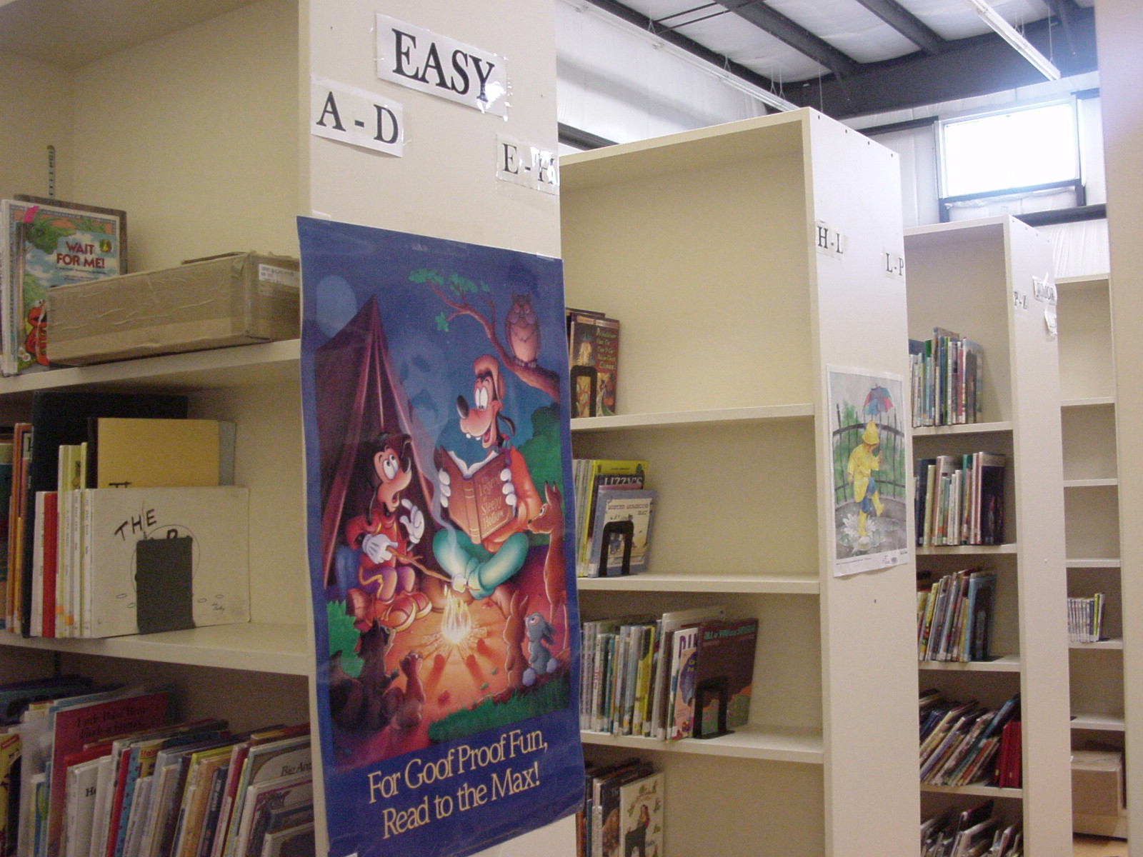 Northern Saskatchewan Archives - Library Shelves and Poster